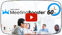 Learn about MeetingBooster in 60 seconds