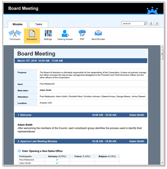 Auto-Generate Meeting Minutes