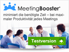 MeetingBooster minimizes time spent in meetings while maximizing the productivity of every meeting. Free Trial